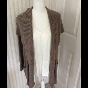 Shawl Collar Sweater Size S